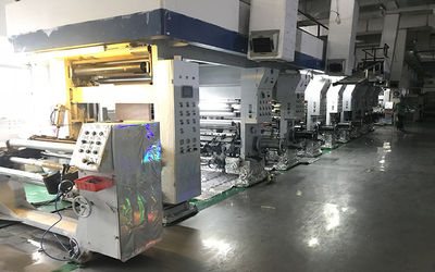 8 colors high speed printing machine