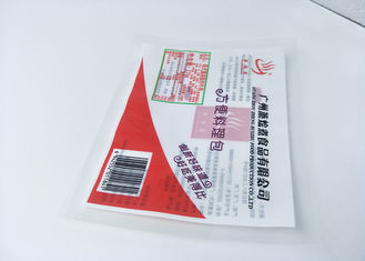 Fried Beef Plastic Pouch Packaging Eco Friendly Food Grade High Barrier