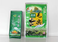 China Recycle Stand Up Custom Printed Tea Bags , Aluminum Foil Wrapped Zip Lock Pouch company