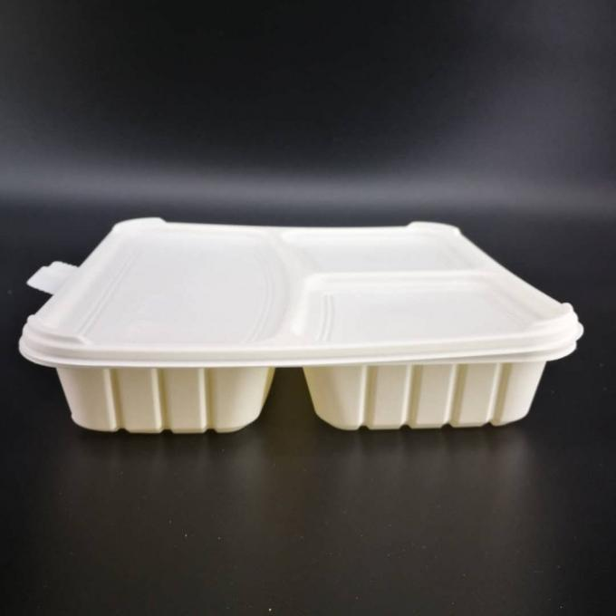 Compostable Custom Biodegradable Trays , 100% Disposable Sugarcane Pulp Paper Plates