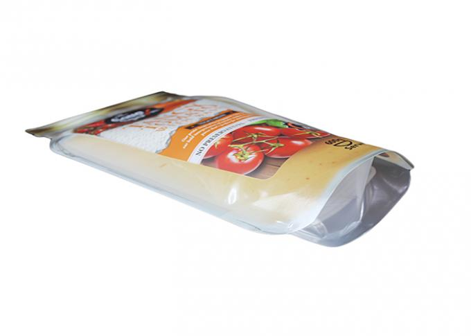 Custom Printed Shaped Pouch Plastic Packaging Bag Stand Up Eco - Friendly