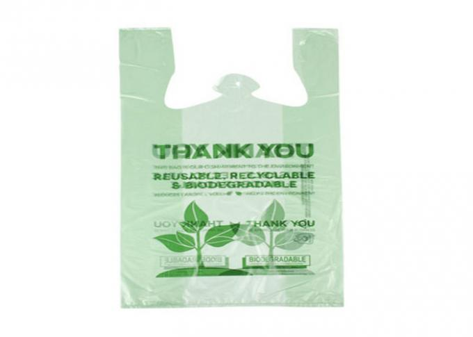 Eco Friendly PLA Biodegradable Plastic Packaging Customized Printed 100% Compostable