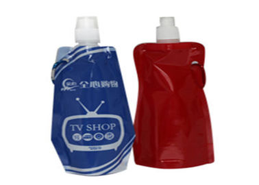 China Laminated Spout Pouch Packaging Custom Printing For Lubricating Oil / Engine Oil distributor