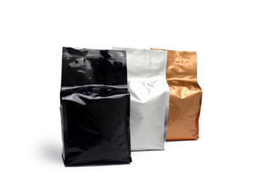 China Aluminum Foil Plastic Side Gusset Bag Food Grade For Coffee Bean With Valve distributor