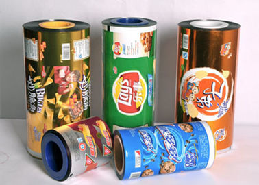 China OEM  Food Grade Plastic  Sealing Packaging Stretch Roll Film 80-125 Micron  Aluminum Foil Laminated Roll Films distributor