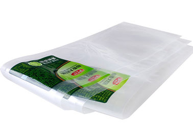 China Matt Mylar Three Side Seal Bag , Clear Zipper Packaging Bag For Food Packaging distributor