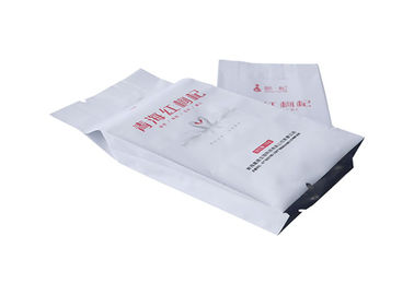 China Stand Up Flat Bottom Aluminum Foil Packaging Bags Waterproof Tea / Coffee Packing factory