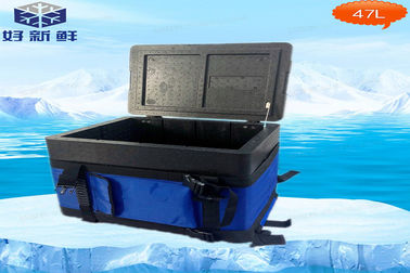 China Portable Vaccine EPP Cooler Box Capacity 8L For Transport Rotational Moulding Cooler Box factory
