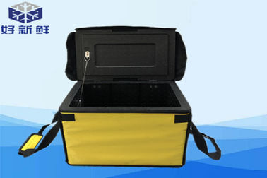 China Oxford Fabric Food Backpack Large Cooler Box With Eco Friendly Shipping EPP Foam factory